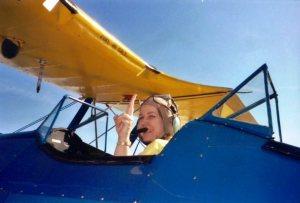 Channeling Amelia Earhart!